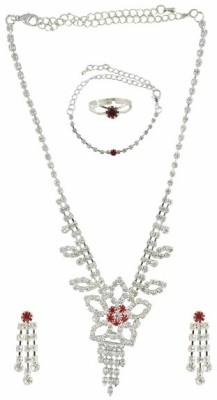 Diovanni Metal, Alloy Jewel Set at flipkart