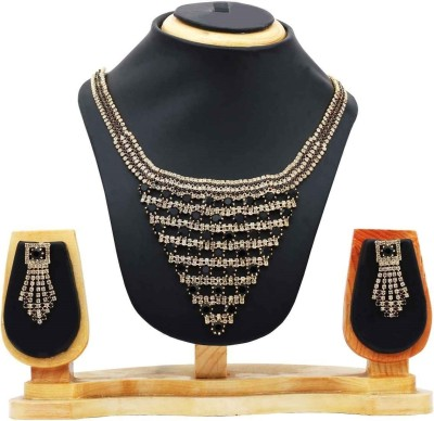 Hawai Alloy Jewel Set(Black) at flipkart