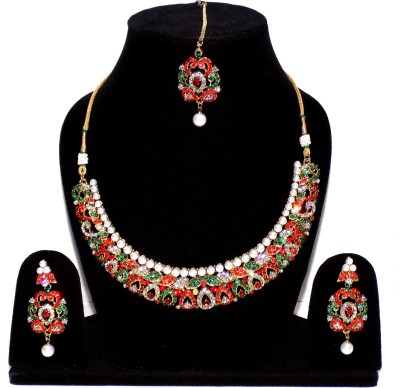 Jewels Kafe Alloy Jewel Set(Multicolor) at flipkart