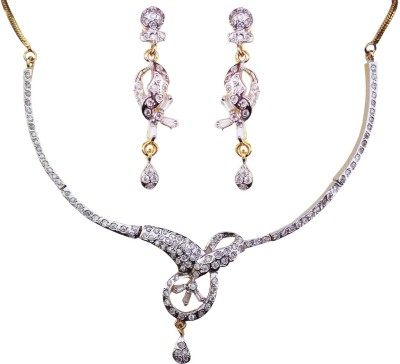 Kundaan Alloy, Copper Jewel Set(Multicolor) at flipkart