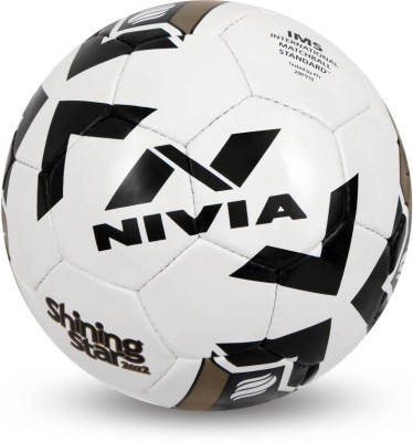 Nivia SHINING STAR -2022 Football - Size: 5(Pack of 1, Multicolor)  available at flipkart for Rs.1020