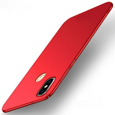 GadgetM Back Cover for Mi Redmi Note 5 Pro(Red, Hard Case)
