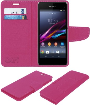 Helix Back Cover for Sony Xperia Z1 Compact(Black, Rubber)