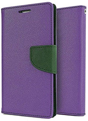 REYTAIL Flip Cover for Lenovo Vibe X3 Lite(Purple, Shock Proof, Flexible Case)