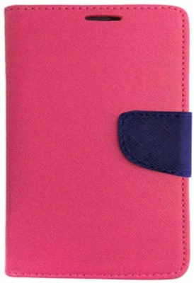 REYTAIL Flip Cover for Samsung Galaxy TAB E 9.6'' / T560 Pink, Shock Proof, Silicon