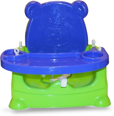 Akshat 5 In 1 Multipurpose Booster Baby Chair (Feeding Chair/ High Chair, Baby Swing, Car Seat and Bath Seat) - BLUE , GREEN(Blue, Green)  available at flipkart for Rs.959