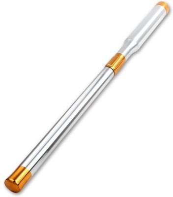 Laxmi Ganesh Billiard 4EF SNOOKER TELESCOPIC CUE EXTENSION METAL IN SILVER Snooker, Pool, Billiards Cue Stick(Steel)