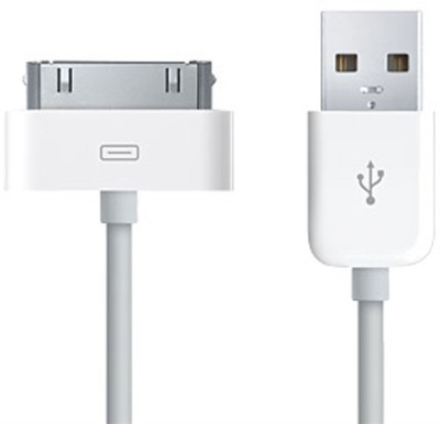 e-Cosmos Data Sync & Charger for Apple iPhone 4/4s, 3G , iPod Nano USB Cable(White) Flipkart