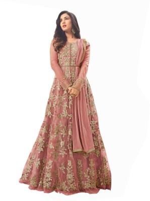 Viha Anarkali Gown(Light Blue)