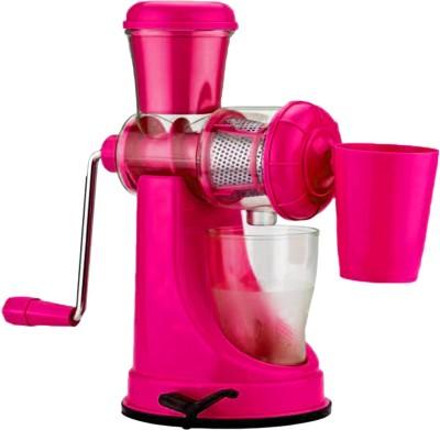 YAKEEN Plastic, Steel Hand Juicer(Pink)