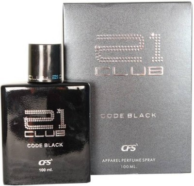 21 CLUB CODE BLACK Perfume  -  100 ml(For Men & Women)  available at flipkart for Rs.299