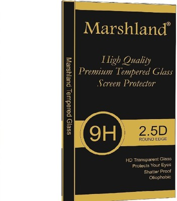 Marshland Tempered Glass Guard for Galaxy C7 pro 5D Glass Premium Quality Full Glue Screen Protector 9H Hardness Edge To Edge Perfect Fit For Samsung C7 Pro Tempered Glass (Golden)(Pack of 1)