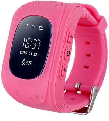 MOBILE LINK BABY.PINKK.AM7 phone PINK Smartwatch(Pink Strap FREE SIZE)