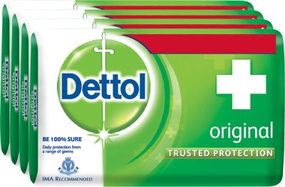 Dettol Original Soap Bar(500 g, Pack of 4)