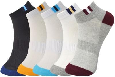 Novasox Men's Ankle Length Socks(Pack of 5)