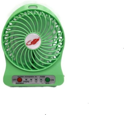 Sheling portable   Usb rechargable V 3 USB Fan Green Sheling Mobile Accessories
