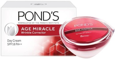 Ponds Age Miracle Wrinkle Corrector Day Cream SPF 18 PA ++(35 g)