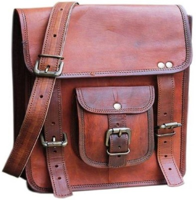 34b4384ca419 16% OFF on Bhavya bag003 Messenger Bag(Brown, 13 inch) on Flipkart |  PaisaWapas.com