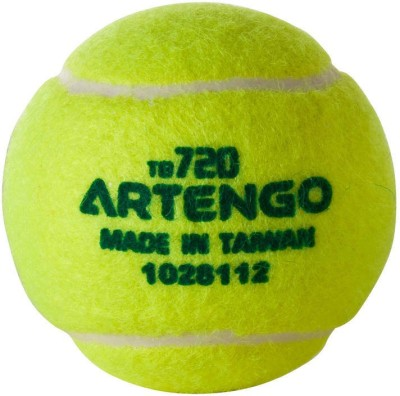 Artengo  by Decathlon TB120 tennis BALL tennis Ball(Pack of 1, Yellow)  available at flipkart for Rs.65