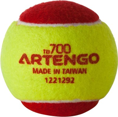 Artengo  by Decathlon TB100 tennis BALL tennis Ball(Pack of 1, Red, Yellow)  available at flipkart for Rs.75