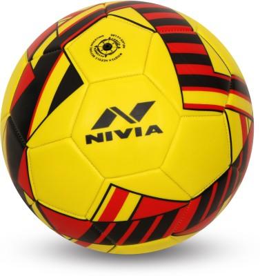 Nivia Blade Machine Stitched Football Football   Size: 3 Pack of 1, Yellow Nivia Footballs