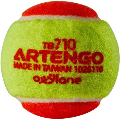 Artengo  by Decathlon TB110 tennis BALL tennis Ball(Pack of 1, Orange, Yellow)  available at flipkart for Rs.75