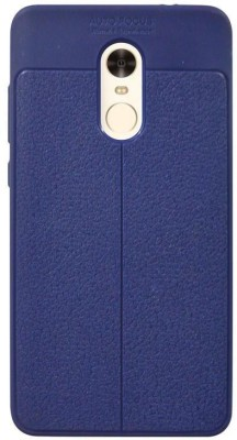Coverage Back Cover for Mi Redmi Note 4 Royal Blue
