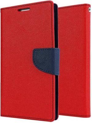 KartV Flip Cover for Mi Redmi Note Prime Red
