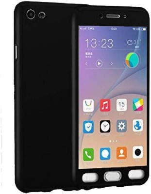 STUDOZ Front & Back Case for Studoz Ipaky 360 Degree All-round Protective Slim Fit Front And Back Case Cover for Vivo Y55s Black Tempered Glass Screen Protector.(Black, Dual Protection)