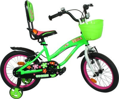 9cf0a383899 33% OFF on COSMIC VEGA 16 INCH KIDS BICYCLE - LIGHT GREEN PINK 16 T Single  Speed Recreation Cycle(Green