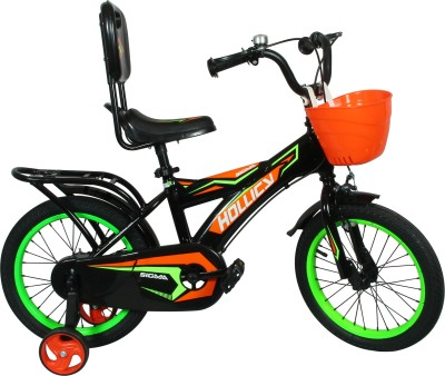 9c78168a80a 33% OFF on Hollicy SIGMA 16 INCH KIDS BICYCLE - BLACK GREEN 16 T Single  Speed Recreation Cycle(Black