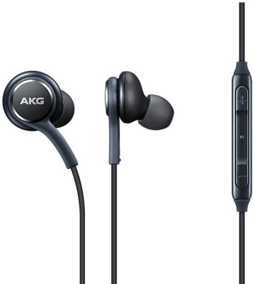 Samsung EO-IG955BSEGIN Tuned by AKG Wired Headset with Mic(Black, In the Ear)