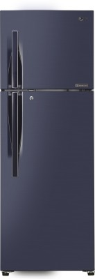 LG 335 L Frost Free Double Door Top Mount 3 Star Refrigerator(Dark Purple, GL-T372RCPU)