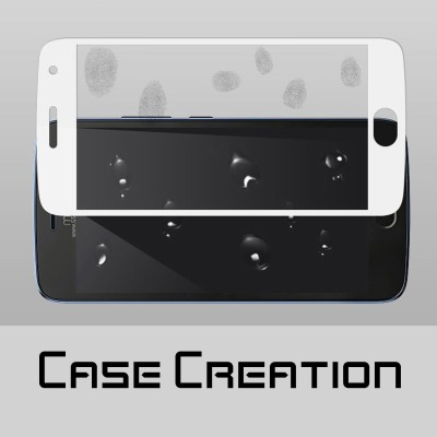 "Case Creation Tempered Glass Guard for Motorola Moto E plus (4th Gen) 5.5"" inch(Pack of 2)"