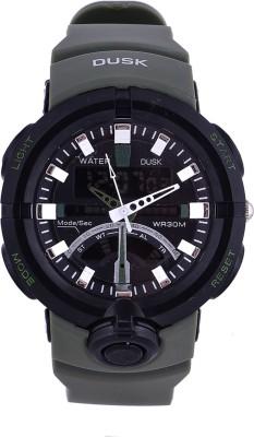 SKMEI Dusk 102 Military Green Sports Analog Digital Watch   For Men SKMEI Wrist Watches