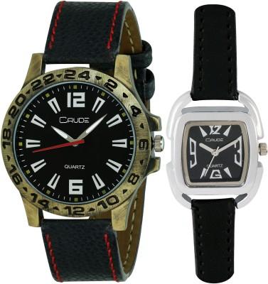 Crude RG547  Analog Watch For Couple