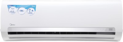 Midea 1 Ton 3 Star BEE Rating 2018 Split AC  - White(12K Santis Pro - MAS12SP3C8F0, Copper Condenser)