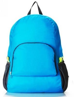 GOCART Waterproof Foldable Backpack Hiking Bag Climbing Travel bag 5 L Trolley Backpack (Blue) 10 L Backpack(Blue)  available at flipkart for Rs.335