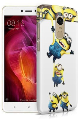 casepoint Back Cover for Mi Redmi Note 4 Multicolor, Waterproof