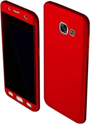 PEAKSTERS Front   Back Case for Samsung Galaxy J5 Prime Red RED, Dual Protection, Plastic