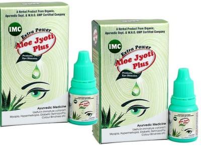 IMC Aloe Jyoti Plus Pack of 2 Eye Drops(20 ml)