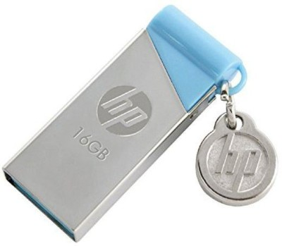 b5e57b0f5 31% OFF on HP V215b USB Flash Drive - Pendrive 16GB - USB 2.0 16 GB Pen  Drive(Silver) on Flipkart
