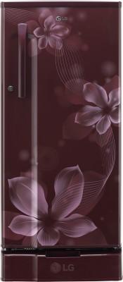 LG Direct Cool 188 L Single Door Refrigerator (GL-B191KSOW, Scarlet Orchid) 1