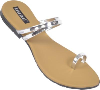 imac Women silver Flats