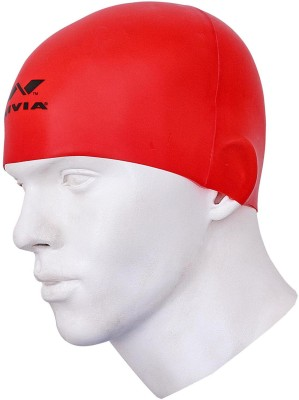 Nivia SWIMMING CAPS Swimming Cap(Red, Pack of 1)  available at flipkart for Rs.190