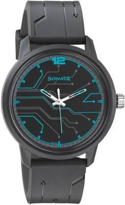 Sonata 77085PP02 Volt Watch  - For Men