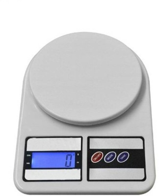 Mezire New Digital Electronic SF 400 5Kg Kitchen Weighing Scale  (Off-White) Weighing Scale(White)  available at flipkart for Rs.399