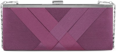 Chemistry Party Purple  Clutch at flipkart