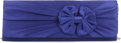 Chemistry Party Blue  Clutch at flipkart