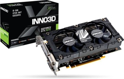 INNO3D NVIDIA GTX 1070 8 GB GDDR5 Graphics Card(Black)